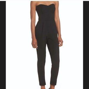 Adelyn Rae Strapless Jumpsuit size medium